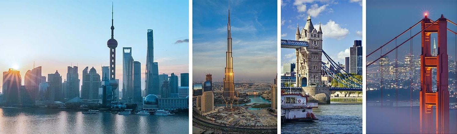 Metropolitan city skylines